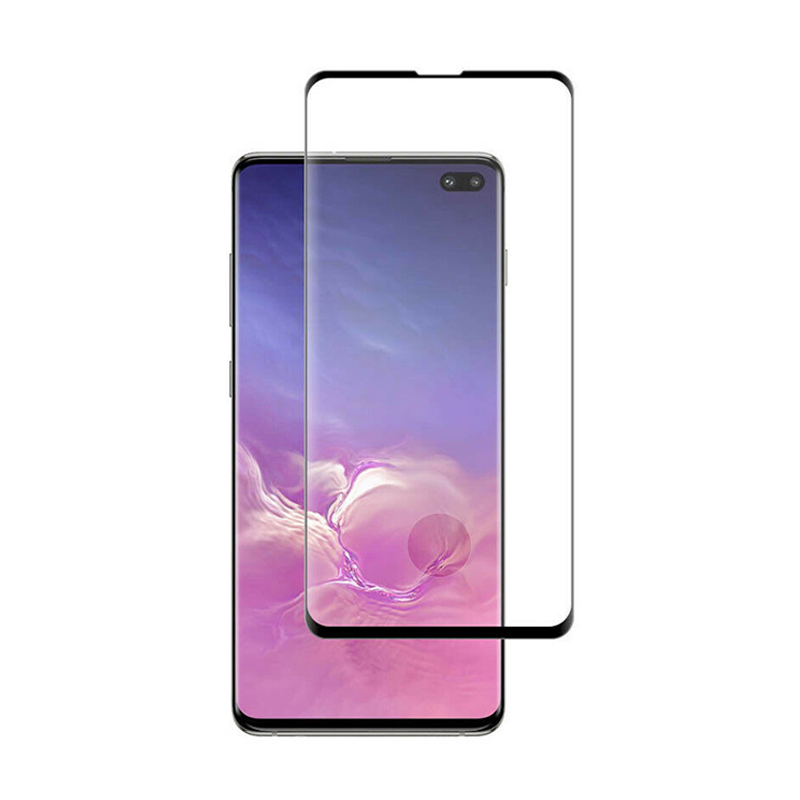 100pcs DHL 3D Full Cover Tempered Glass For Samsung galaxy S10 S10e S10 Plus Curved Screen
