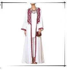 Bordado de luxo lantejoulas abaya muçulmano maxi