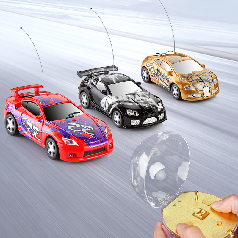 1:67 RC Mini Car Remote Control Car Model Micro Racing Radio Machine Controlled Panel Vehicle Electrical Cars Toys Gift For Kids