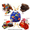 24 Kinds Of Styles Clothes Garment Suit Cover Bag Bath Toys Basket Storage Kids Room Hanging