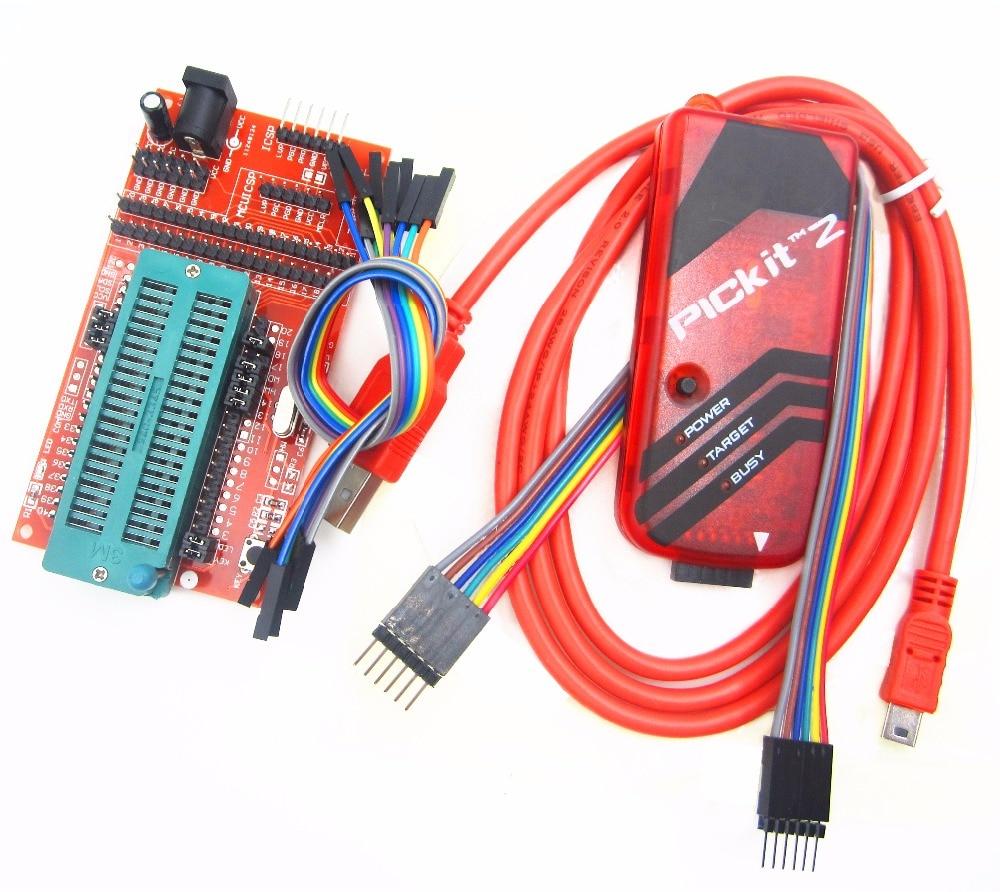 pickit2 Programming / emulator + PIC microcontroller / minimum system board / development board / universal programmer seat programming scala scalability functional programming objects