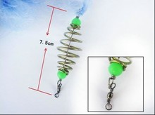 Anmuka New Design Copper Spring Shoal Fishing Net Netting Luminous beads Swivel  fishing lure fishing hooks fishing tackle