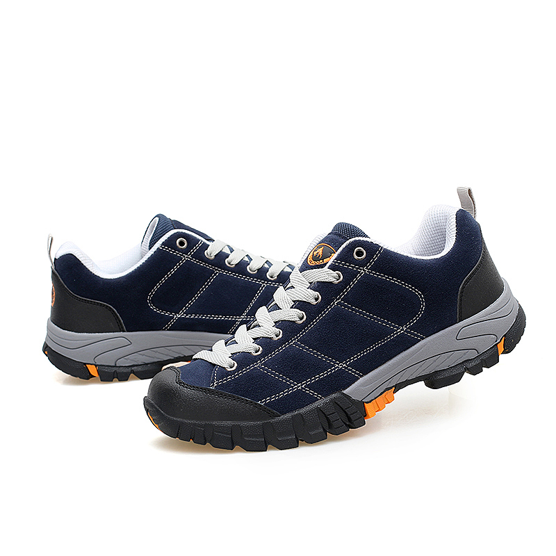 Men Hiking Shoes Windproof Waterproof Trekking leather Shoes Climbing Fishing Shoes New popular Breathable Outdoor shoes