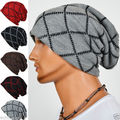 New 2015 Men Women Autumn Winter Knitted Hat Fashion Stripes Beanies Hats for Men and Women