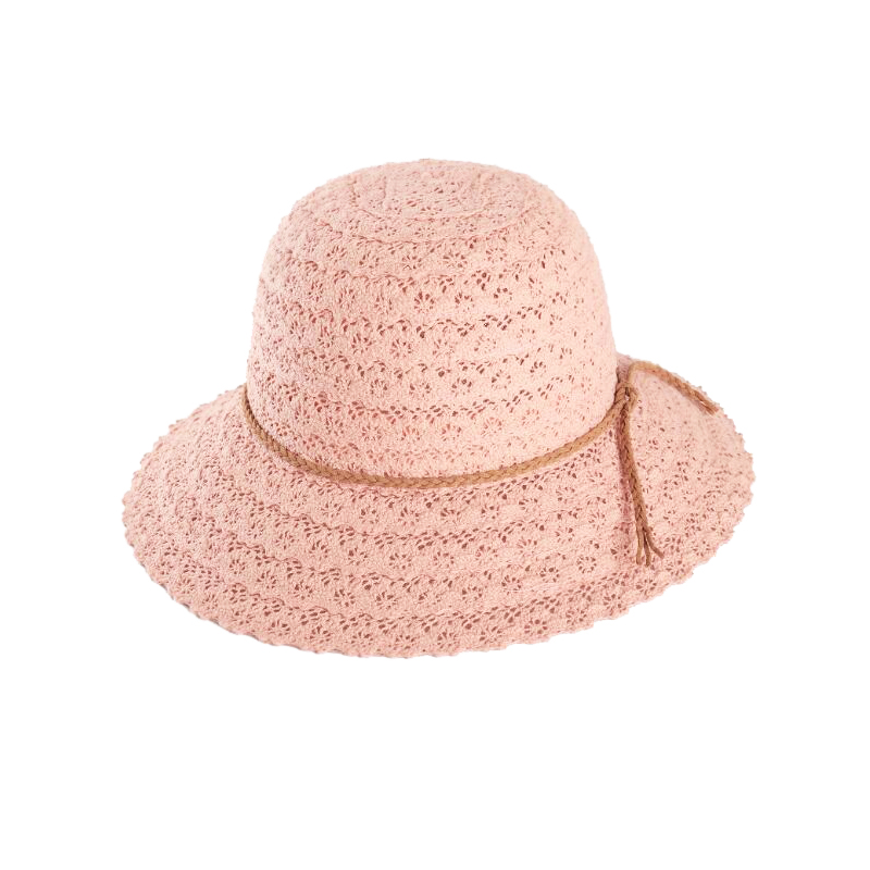 Spring And Summer Hand Woven Straw Hat Openwork Petals Travel Fisherman Hat Basin Wild Shade Straw Beach Hat Visor Hat in Women 39 s Sun Hats from Apparel Accessories