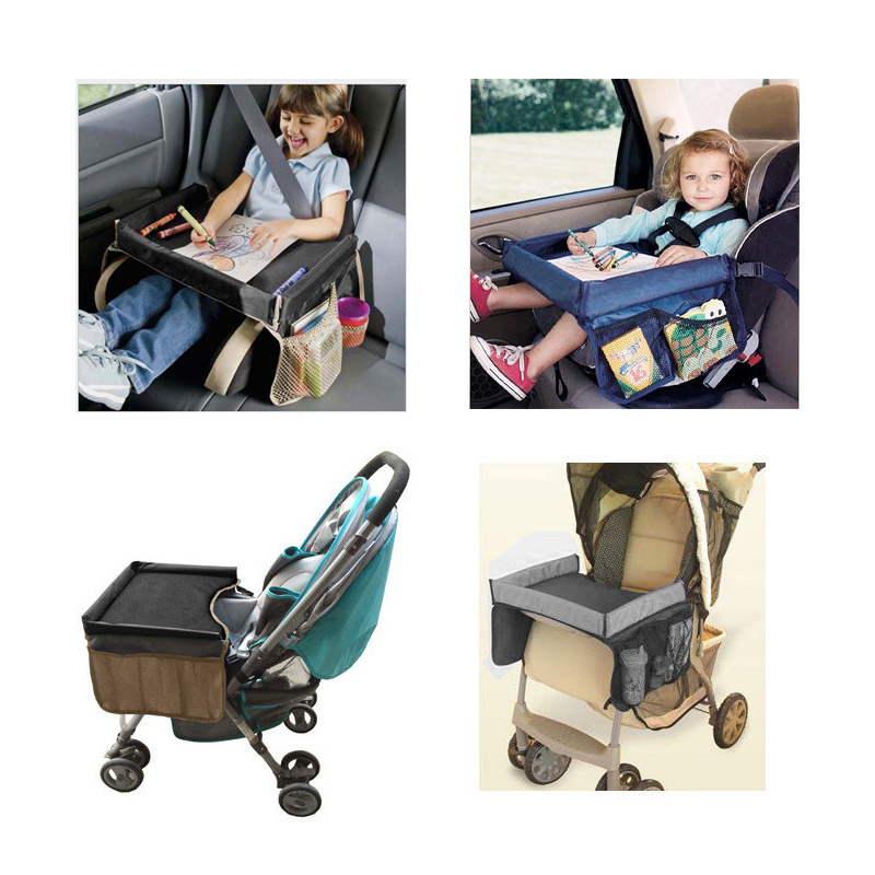 Baby-Car-Table-Food-Book-Study-Desk-Kid-Cup-Holder-Waterproof-Children-Toy-Table-Portable-Travel