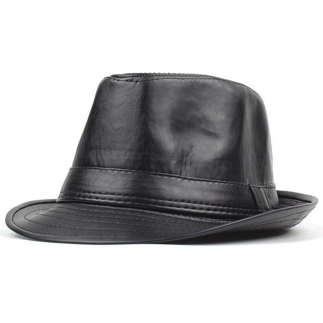 British Style Jazz Caps Hats Fashion Wool Felt Fedoras Trilby Hat solid  panama formal cap for adefa8adaf9
