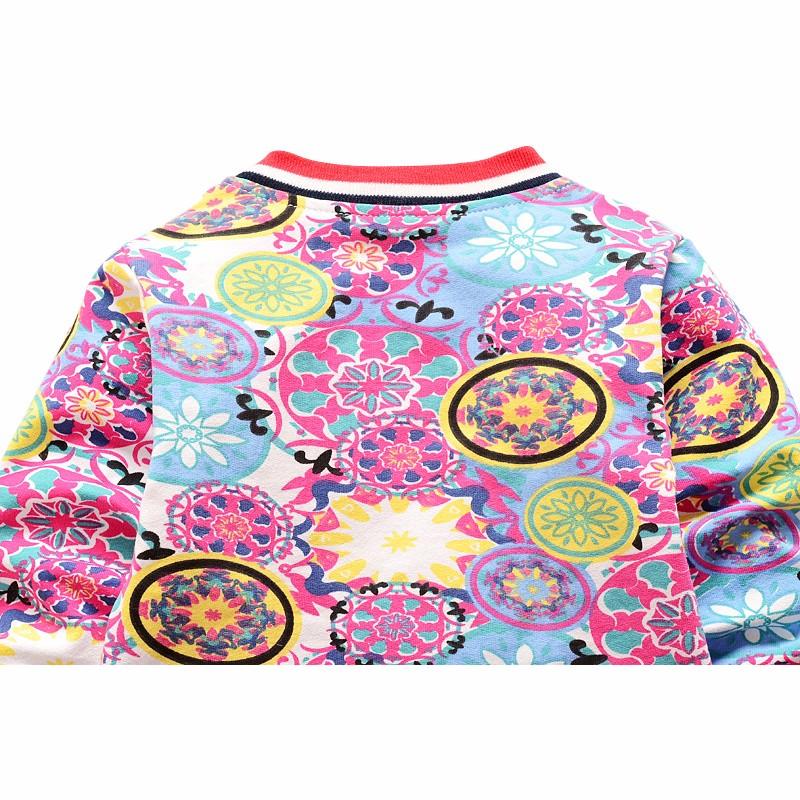 New Baby Coats Print Boys Girls Jackets Spring Autumn V Neck Cardigan Coat Fashion Infant Cotton Coat 7-24 Months Baby Clothing (8)