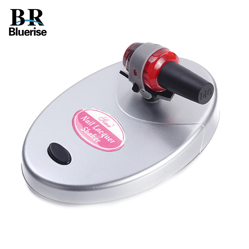 Gel Nail Polish Paint Shaker Nail Lacquer Manicure Machine Tools Use For Nails Art Glue Tattoo ink Remove The Precipitate foreverlily nail lacquer shaker adjustable nail gel polish varnish bottle shaking machine shake evenly tools for nail art tattoo