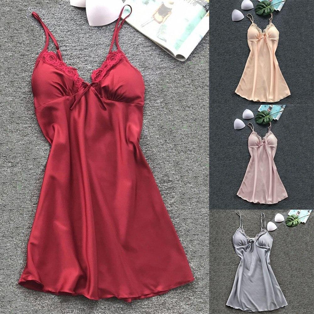 Damen-nachtwäsche Frauen Mode Sexy Nachtwäsche Dessous Spitze Versuchung Gürtel Unterwäsche Nachthemd # Tx4 Unterwäsche & Schlafanzug