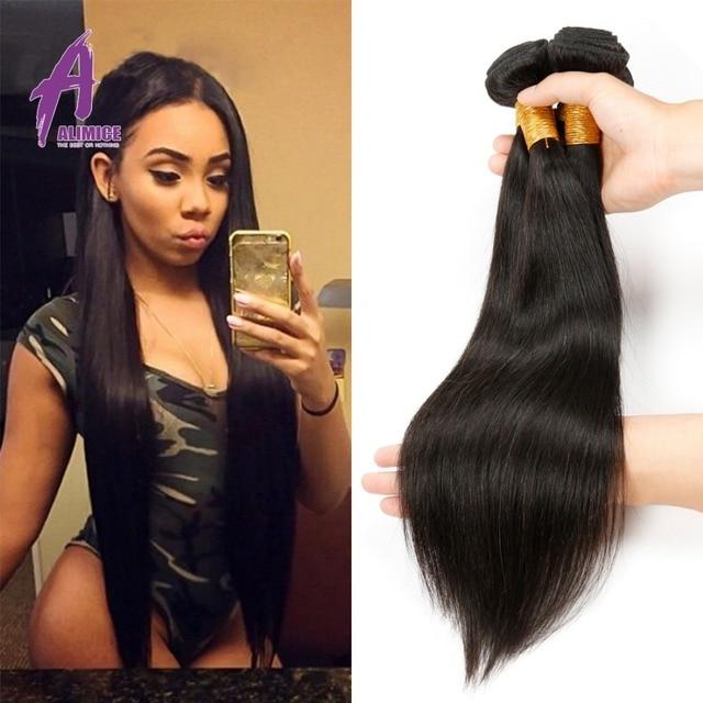 Brazilian Virgin Hair Straight 4 Bundles Virgin Hair Straght Brazilian Hair Weave Bundles Virgin Brazilian Straight Hair Bundles
