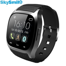 SkySmile Original font b Smartwatch b font M26 Bluetooth Smart Watch Alitmeter Android Phone For Apple