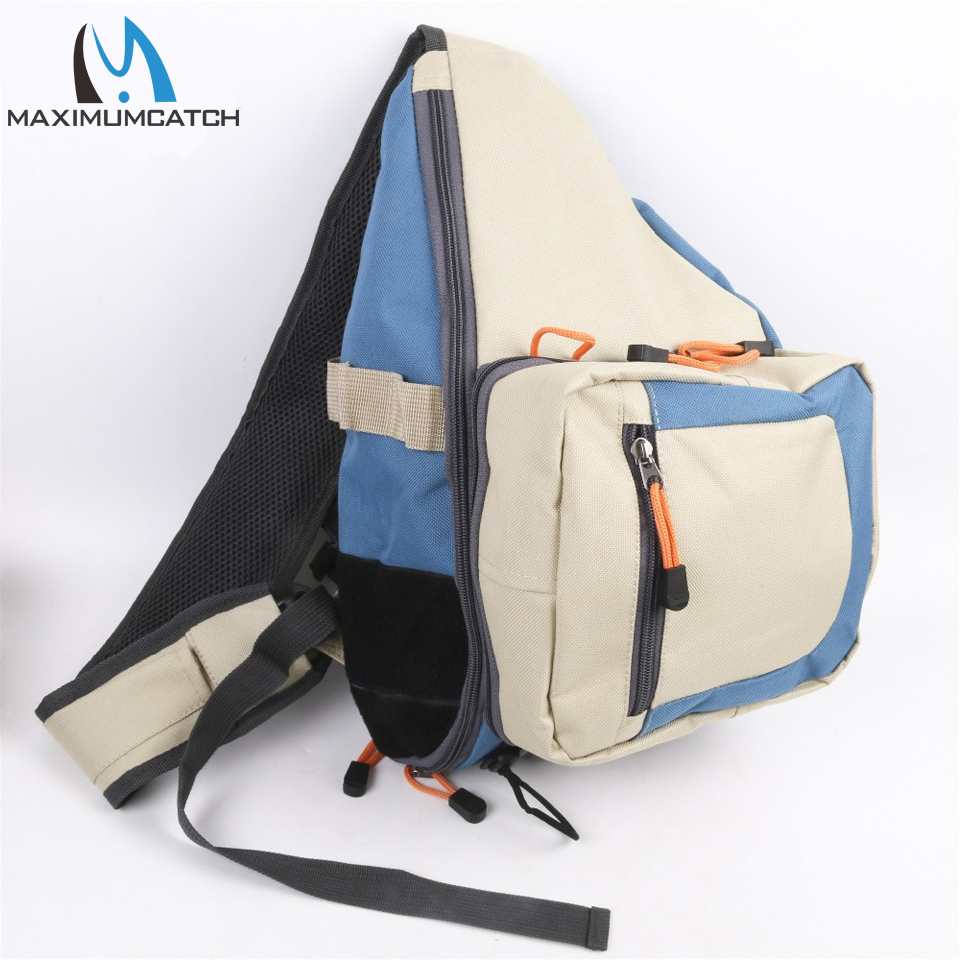 Maximumcatch Fly Fishing Sling Pack Bag Light Weight Outdoor Sport Equipment Fishing Bag string sling pack
