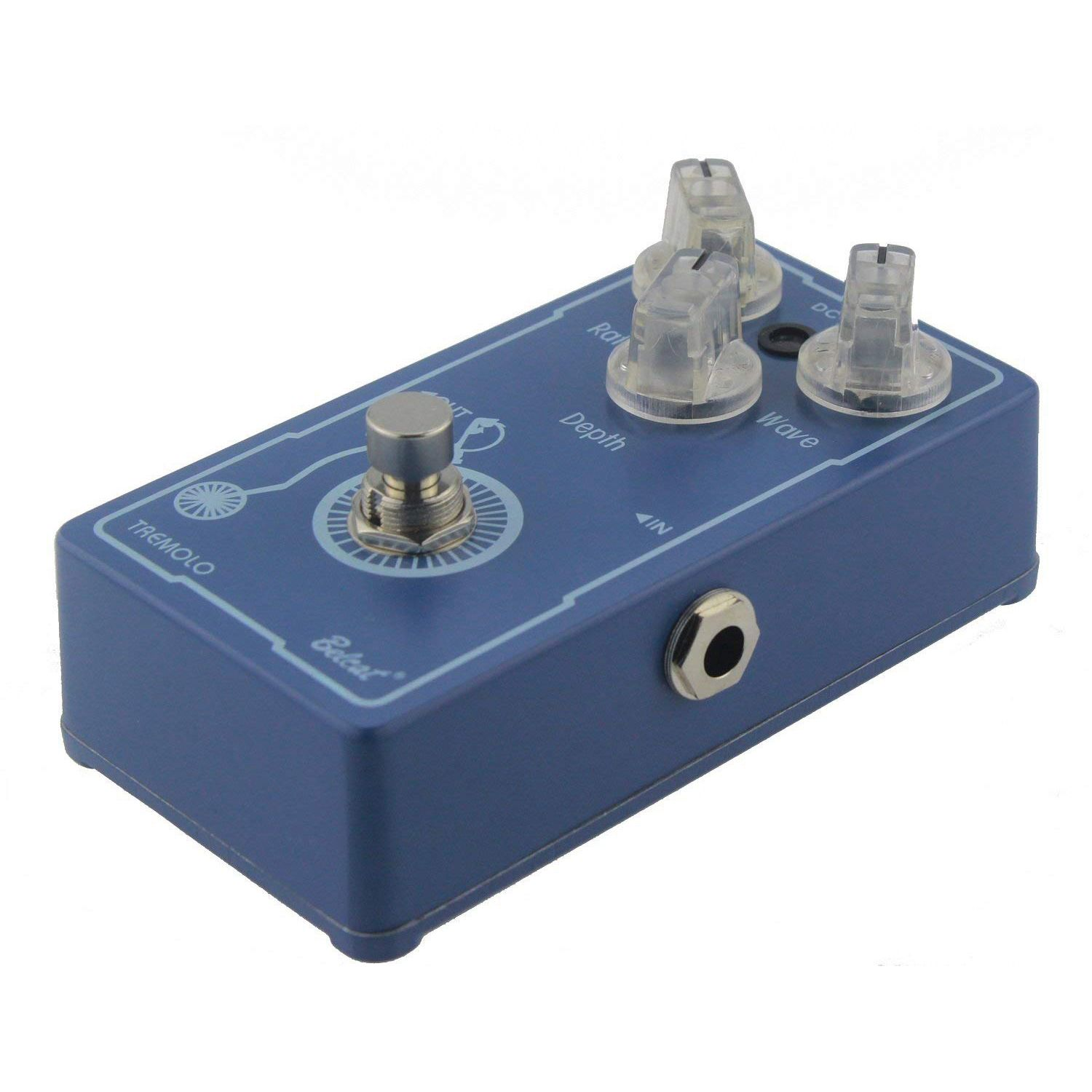 Belcat Tremolo Pedal TRM-607 Classic Analog Guitar Effects Pedal With True Bypass