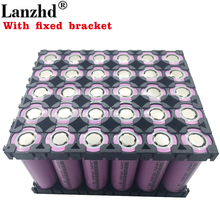 30PCS 18650 Batteries 3.7V Li ion 3300mAh 30A 18650VTC7 battery and fixed bracket Holder with Splicing Bracket