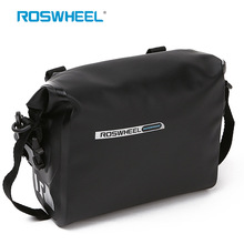 цена на ROSWHEEL Cycling Bike Bags Bicycle Handlebar Front Head Top Tube PVC Waterproof Bag Bicycle Saddle Bag Basket bisiklet aksesuar