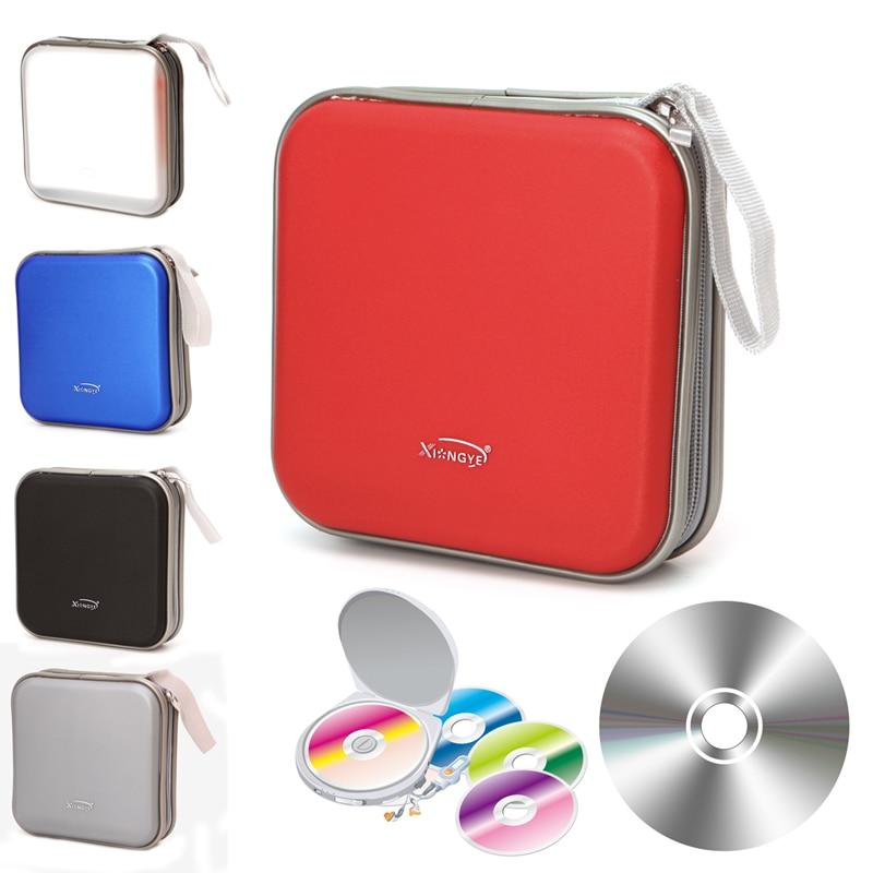 OOTDTY 40 Disc DVD VCD Case CD Bag Box Storage Organizer Album Video Media Holder New