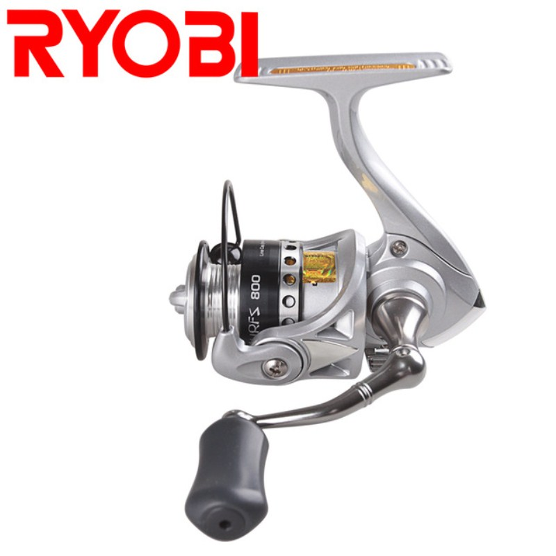 Hot! RYOBI Spinning Fishing Reel 5.2:1/3+1BB 500/800 Size Molinete Para Pesca Spinning Reel Moulinet Peche Steering Wheel Feeder