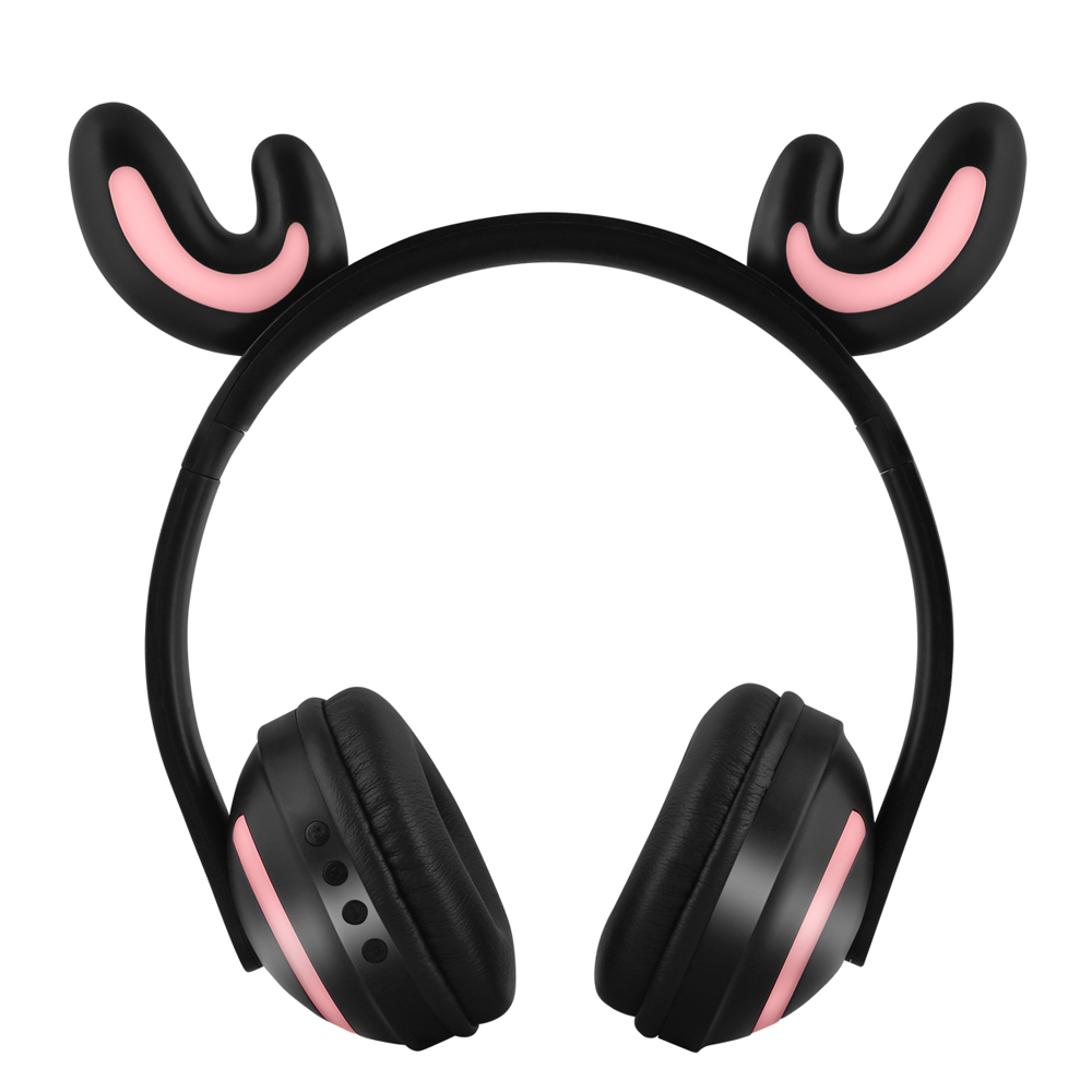 ZW-19 Wireless Bluetooth Headset Glowing Earphones Stereo Music Hands-free w/Mic Colorful Headphones w/ Adjustable Headband