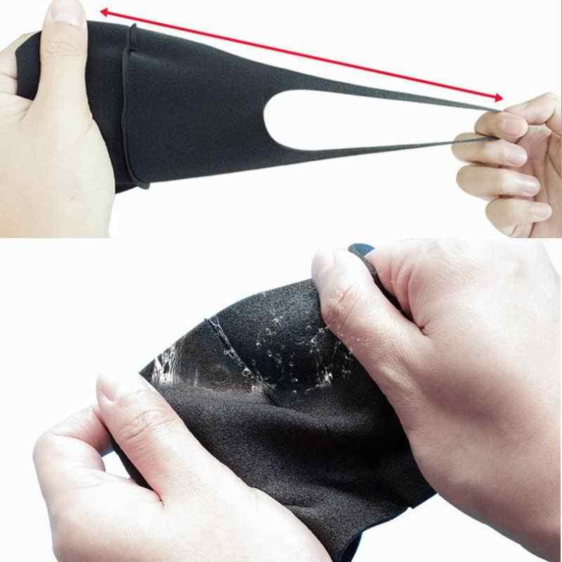Mask Black Unisex Pcs 200 Mouth Fashion Face Sponge Breathable