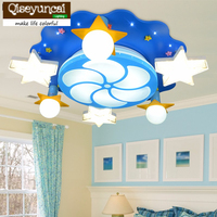 2016 New Children S Room Remote Control LED Ceiling Lamp Girl Princess Room Cartoon Lighting