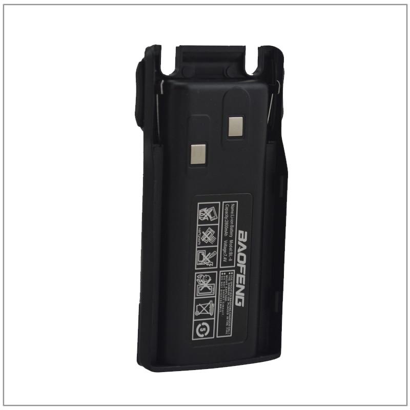 BL-8 Baofeng UV-82 talkie walkie Li-ion Batterie 1800 mAh 7.4 V pour Baofeng Pofung UV-82, UV82, UV-8D, UV-82HX Portable Two-way Radio