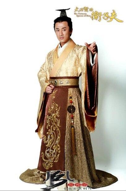 Costume masculin hanfu de haute qualité Costume de l'empereur - Vêtements nationaux - Photo 2