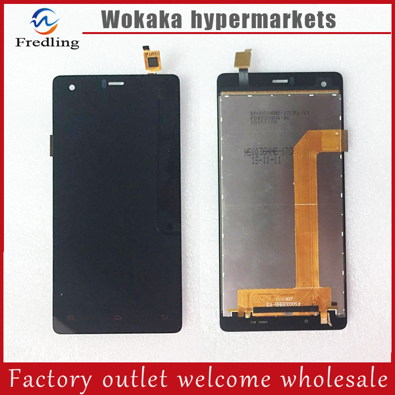 New Touch Panel for Ginzzu S5020 3G LCD Display With Touch Screen Digitizer Glass Sensor Replacement Free Shipping