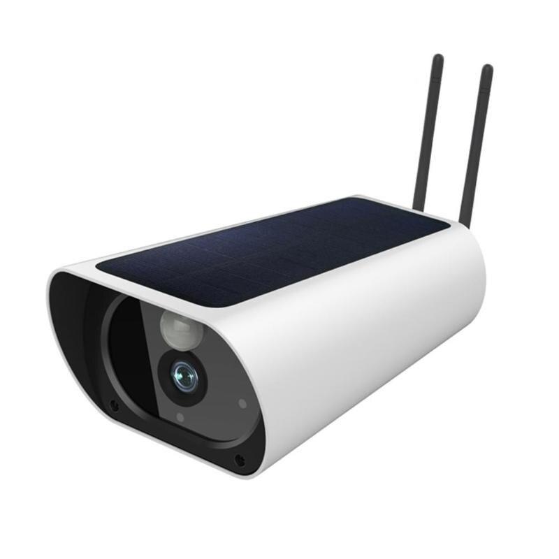 4G solaire 1080 P HD caméra de Surveillance extérieure étanche CCTV Vision nocturne caméra de sécurité avec fonction de détection PIR