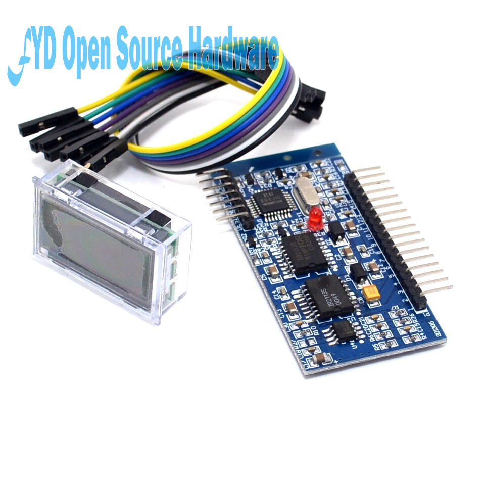 1Pcs EGS002 EG8010 + IR2110 Driver Module +LCD Pure Sine Wave Inverter Driver Board ...