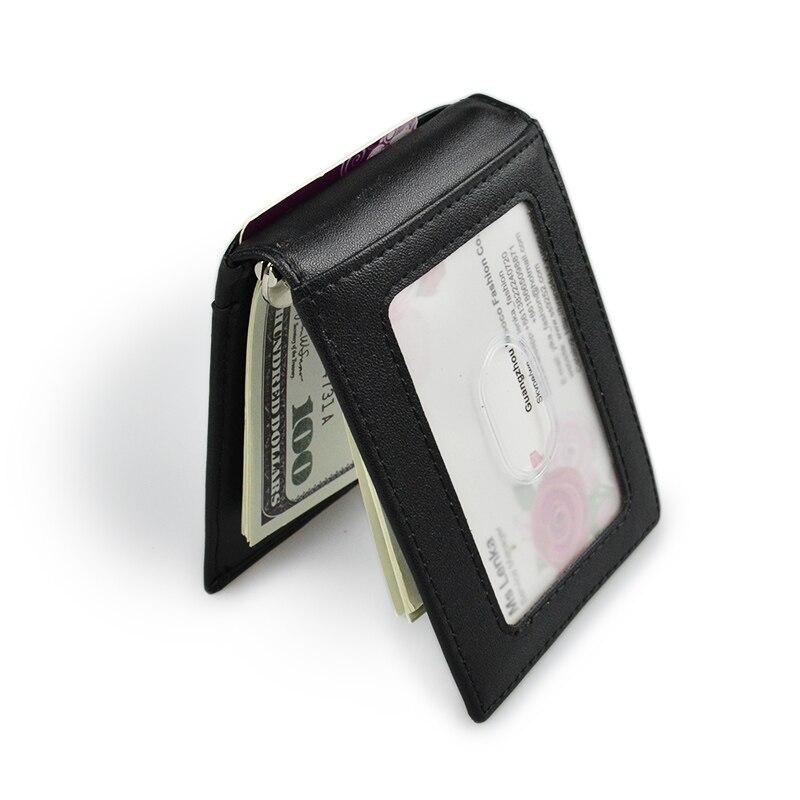 2019 Fashion Women Men Wallet Money Clip Open Clamp For Money Ultrathin Pocket Clamp Credit Card Case Mini Creative Wallet