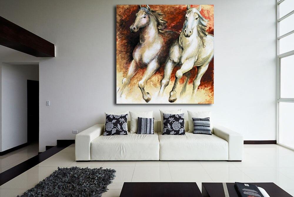 ⓪Decoración para el hogar carteles y impresiones HD caballo Correr ...