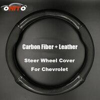 380MM Car Steer Wheel Cover Steering Wheel Protective Casing Chevy Lanos Orlando Captiva Lacetti Aveo Niva
