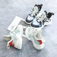 Lente Chic Sneakers voor Vrouwen Alle Wit Casual Schoenen Kant Geel Blauw Sneakers Mode Schoen Femme Zapatillas Lona Mujer