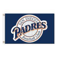 San Diego Padres Flag World Series Champions Baseball Cub Fans Team Flags Banner 3x5ft Banners 90x150cm