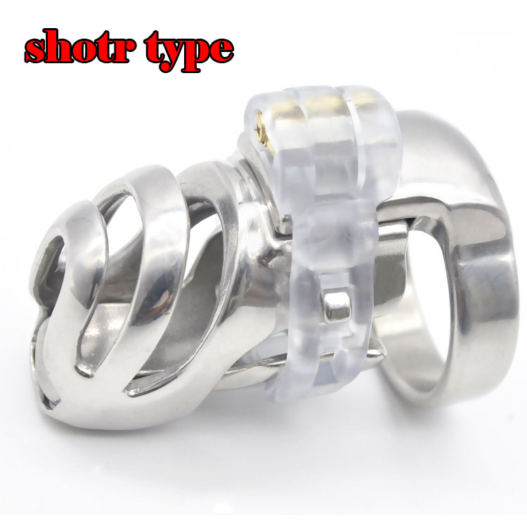 Cb6000s Stainless steel new chastity device cock cage+PA hook cbt toys penis lock chastity cage chastity cock ring sex toys 2015 new birdlocked mini silicone cb6000s male chastity cb device chastity belt men chastity device lock rings sex toys
