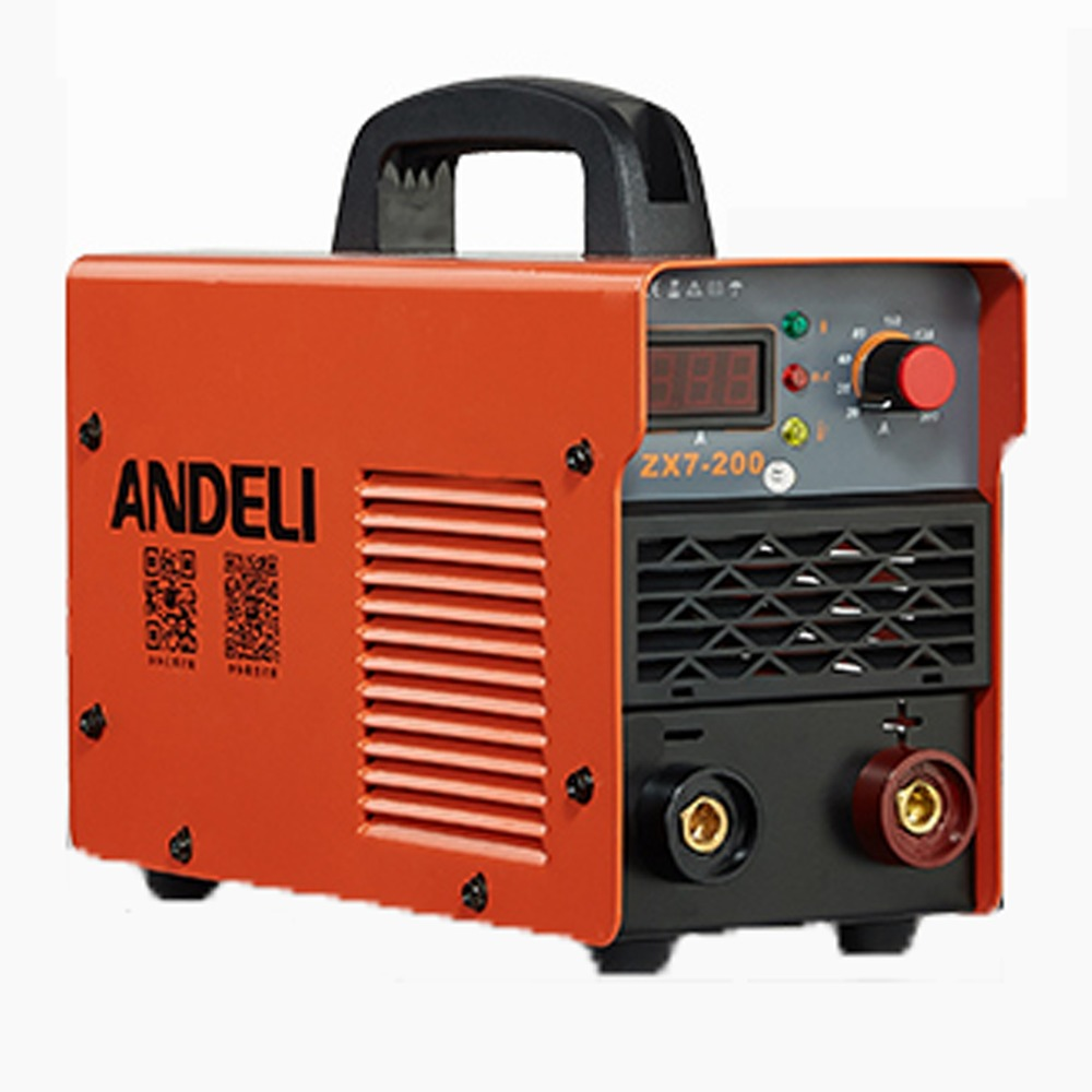 AC220V Welding machine ,IGBT DC Inverter welding equipment MMA welding machine ZX7-200 welder mini 220v 110v dual voltage protable 2 5kg 3 2mm electrode igbt inverter dc welding machine equipment tools with accessory