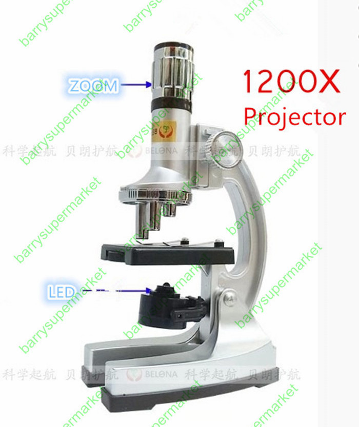 Fun Zoom hallgatói oktatási biológiai mikroszkóp 1200X - Mérőműszerek - Fénykép 3