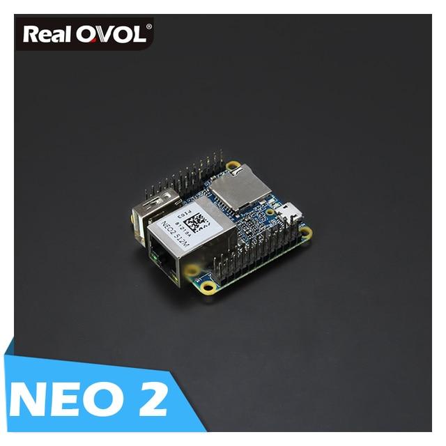 RealQvol FriendlyARM NanoPi NEO2 v1.1 LTS Entwicklung Bord schneller als Raspberry PI 40X40mm (512 mb/ 1 gb DDR3 RAM) ARM Cortex-A53