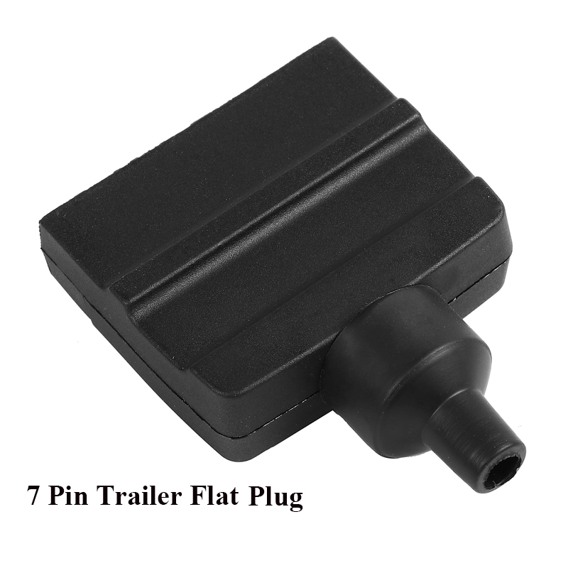 Image 5 - 12V Car Accessories 7 Pin Flat Trailer plug 7 way  core pole  truck  female  adapter Towing Electrics campe towing  Connector-in Trailer Couplings & Accessories from Automobiles & Motorcycles