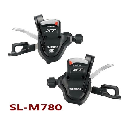 SHIMANO XT SL M780 Thumb Shifter Left & Right MTB Mountain Bike Derailleurs 3 x 10s 30 Speed Bicycle Transmission shimano deorext fd m780 m781 front transmission mtb bike mountain bike parts 3x10s 30s speed