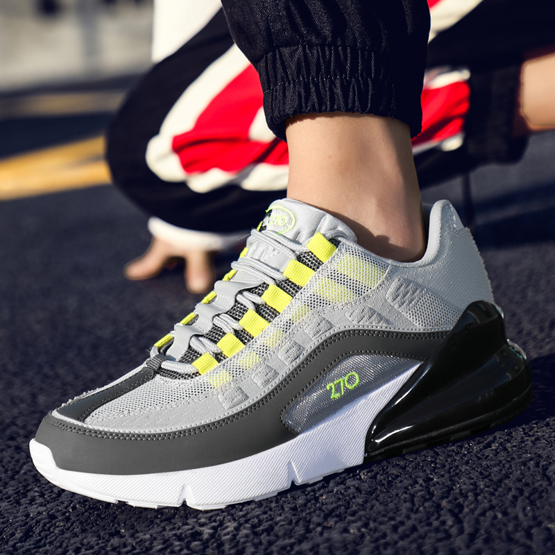2019 New Arrival Brand Designer Male Sport  Cushion Lightweight Breathable Athletic Sneakers Spring Fashion Men Running Shoes