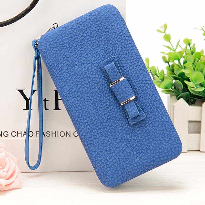 Luxury Women Wallet Phone Bag Leather Case For iPhone 8 7 6 6s Plus 5 For Samsung Galaxy S7 Edge S6 Xiaomi Redmi 3S Note3 4 Case