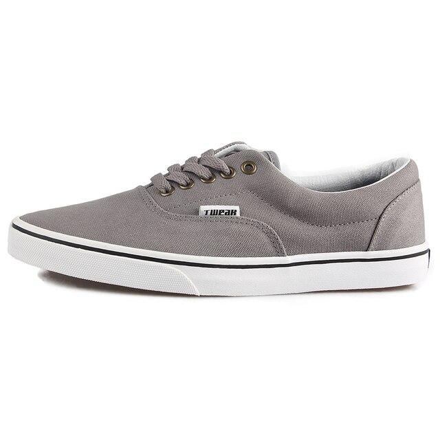 8b8c0522eebeeb TWEAK Unisex Men Women Canvas Low Top Sneakers Skateboarding Shoes Basic  Design Couple Athletic Shoes Khaki Grey ect 8 Colors