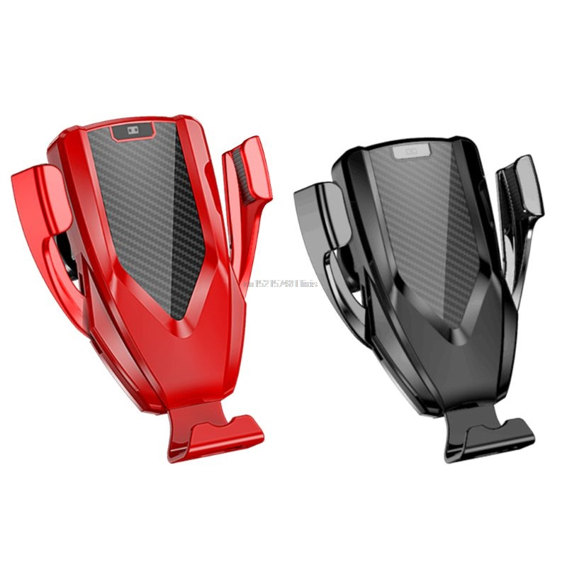 Optical Automatic Clamping 10W Qi Wireless Fast Charge Car Air Vent Mount Holder Stand For iPhone 8 XS Max Huawei Mate 20 ProOptical Automatic Clamping 10W Qi Wireless Fast Charge Car Air Vent Mount Holder Stand For iPhone 8 XS Max Huawei Mate 20 Pro