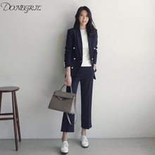 Suit set 2019 spring and autumn new small suit