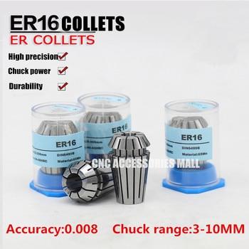 9pcs ER16 high precision 0.008mm Spring Collet chuck For CNC Engraving Milling