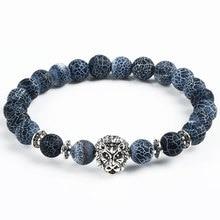Unisex Tiger Eye Bracelet with Natural Stones