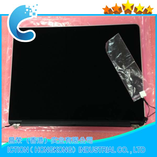 Original 98%New Complete LCDs for Macbook Pro A1502 LCD Screen Display Assembly Early 2015 Year MF839 MF840 M841 Model a1706 lcds grey color new original 2016 year a1706 lcd display screen assembly for macbook pro retina 13 3 dispaly assembly