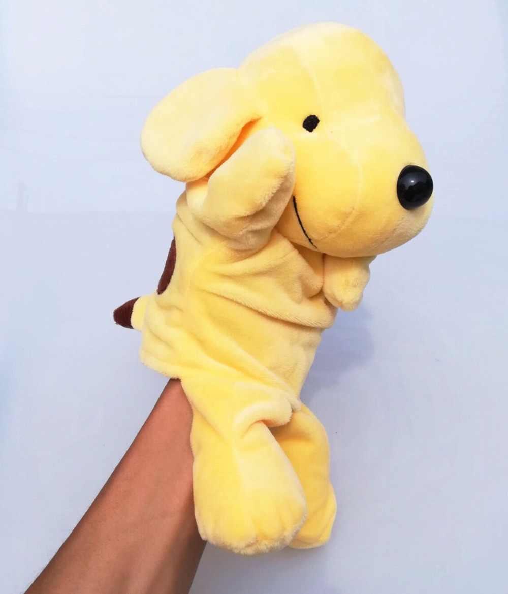 32 см милый мультфильм плюшевые детские игрушки Nici Бегемот Божья коровка волк Жираф енот крокодил стерео ручной кукольный ребенок рассказ